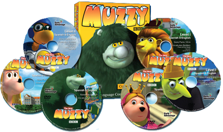 MUZZY DVD set